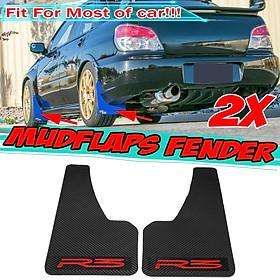 Carbon Fiber Look Splash Guards 2 PCS Mud Flaps Guards For Honda City Civic Jazz Accord CR-V BR-V HR-V