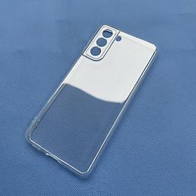 Ốp lưng silicon Gor cho Samsung Galaxy S21/ S21 5G siêu mỏng, có gờ bảo vệ camera- Hàng nhập khẩu