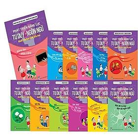 Bộ sách Phát Triển Năng Lực Tư Duy - Ngôn Ngữ dành cho học sinh Tiểu học