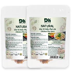 Combo 2 gói Natural Gia Vị Nấu Phở Gà Dh Foods