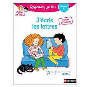 Cahier Effacable J'Ecris Les Lettres Niveau 1 Avec Mila Et Noe