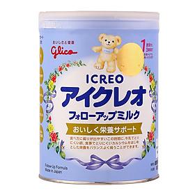 [Mẫu Mới] Sữa Glico Icreo số 1 820g Nội Địa Nhật cho bé từ 1-3 tuổi