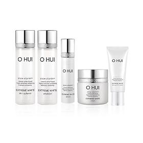 Bộ dưỡng trắng 5 bước OHUI Extreme White Gimmick