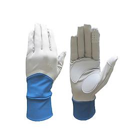 Găng tay Nonstop chống nắng UPF50+ xanh xám Zigzag GLV01005