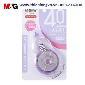 Xóa băng - Xóa kéo 40m M&G - ACT56111 màu tím