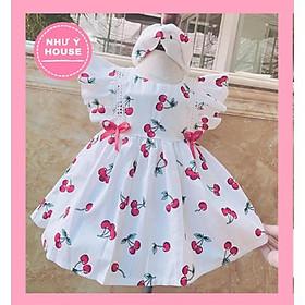 váy xinh cho bé  + TẶNG KÈM TURBANNHƯ Ý HOUSÉ'S-váy bé gái Thiết Kế Cao CấP- váy chery