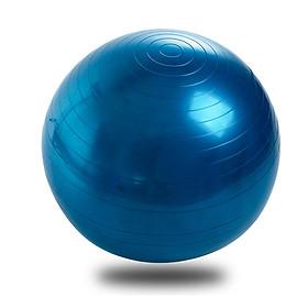 Bóng tập Yoga cao cấp 65cm dày 2mm chống nổ - Tặng bơm bóng và phụ kiện