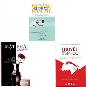 Combo 3 cuốn Kỹ Năng Đi Trước Đam Mê, Mặt Phải (Đi Tìm Những Cơ Hội Tiềm Ẩn Trong Cuộc Sống), Thuyết Sao Cho Phục (tặng kèm 3 bookmark và 2 bút bi hình)