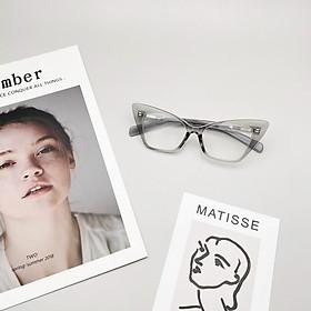 Gọng kính cận-giả cận mắt mèo thời trang new2021-Bisou.accessories