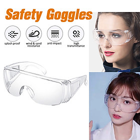 1/2/3/5/10PCS Safty Goggles Glasses Anti Fog Dust-proof Waterproof Anti-UV Adjustable Lightweight Protective Eyewear Protective Eye Protection Splash Goggles in Daily Life Hospitals Schools Factory