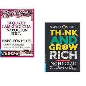 Combo 2 cuốn sách: Nghĩ Giàu & Làm Giàu + Bí Quyết Làm Giàu Của NapoLeon Hill