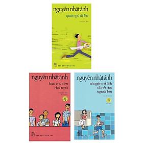 Combo 3 Cuốn Sách Của Tác Giả Nguyễn Nhật Ánh: Bàn Có Năm Chỗ Ngồi (Tái Bản) + Chuyện Cổ Tích Dành Cho Người Lớn (Tái Bản) + Quán Gò Đi Lên (Tái Bản)