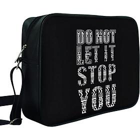 Túi Chéo Hộp Do Not Let It Stop You - TCTE109