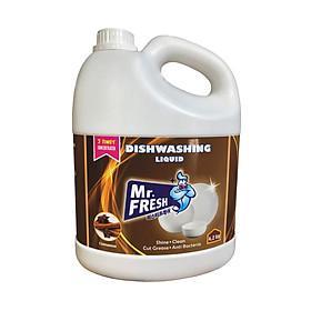 Nước rửa bát đậm đặc Mr.fresh hương quế 4200ml