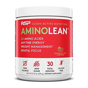 RSP Amino Lean, Pre-Workout Hoàn Chỉnh Cho Nam và Nữ, với EAA Phục Hồi Năng Lượng & L-Carnitine Hỗ Trợ Đốt Mỡ, Caffeine Giúp Tỉnh Táo Tập Trung (30 Lần dùng)