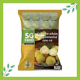 [Chỉ Giao HCM] - Cá viên nhân mayonnaise rau củ 500g SG