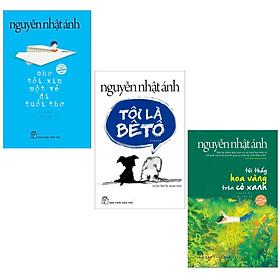 Combo 3 cuốn sách văn học hay nhất của tác giả Nguyễn Nhật Ánh: Cho Tôi Xin Một Vé Đi Tuổi Thơ + Tôi Là Bêtô + Tôi Thấy Hoa Vàng Trên Cỏ Xanh tặng bookmark VDT