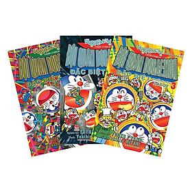 Combo Đội Quân Doraemon Đặc Biệt - Trường Học Robot (3 Tập) - Tái Bản 2019