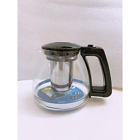 Ấm pha trà thủy tinh chịu nhiệt có lõi lọc inox - ANTH333