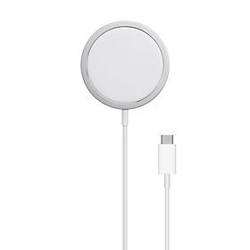 Dock Sạc Không Dây Magsafe Charger 15W chuẩn Qi Cho iPhone 12 Mini / 12 / 12 Pro/ 12 Pro Max
