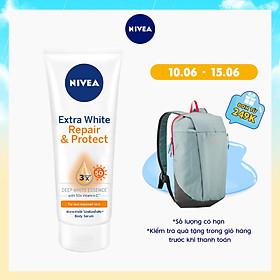 Tinh Chất Dưỡng Thể Dưỡng Trắng NIVEA Ban Ngày Giúp Phục Hồi & Chống Nắng SPF50 (180ml) - 88314