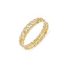 Nhẫn kim tiền tài lộc vàng 10K Huy Thanh Jewelry Size 12