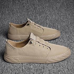 Giày nam thể thao thoáng khí vải nhẹ casual quốc dân cao cấp GNC222