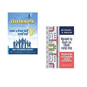 Combo 2 cuốn sách: Ibosses - Thủ Lĩnh Số Thế Hệ Y + Nguyên lý quản trị chuỗi cung ứng