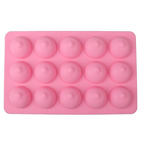 Novelty Dicky Boobie Silicone Chocolate Cake Jelly Mould Tray 15 Grids