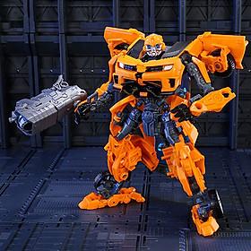 Robot biến hình ôtô Transformer cao 20cm mẫu Bumble Bee BB-20 Đồ chơi biến hình rèn luyện trí tuệ cho bé