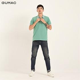 Áo thun polo nam túi đắp GUMAC đủ màu, đủ size, thiết kế basic,phong cách trẻ trung năng động ATNB166
