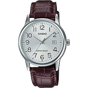 Đồng hồ nam dây da Casio MTP-V002L-7B2UDF