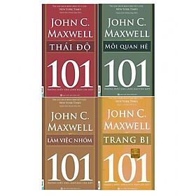 Bộ 4 Cuốn Sách 101 Những Điều Nhà Lãnh Đạo Cần Biết - Tập 1 Chuẩn Bị Để Thành Công ( tặng kèm bookmark TH )