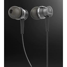 Tai nghe nhét tai cao cấp chính hãng Baseus- In-ear Baseus âm thanh Stereo Earbuds Super Bass tích hợp Mic đàm thoại Cho iPhone Xiaomi Samsung MP3 Điện Thoại Di Động