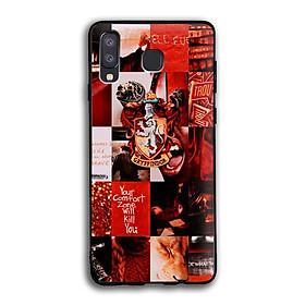 Ốp lưng Harry Potter cho điện thoại Samsung Galaxy A8 Star - Viền TPU dẻo - 02020 7786 HP06 - Hàng Chính Hãng