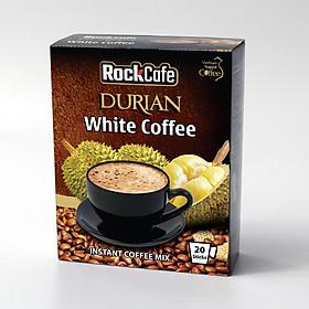 Hộp 20 gói Cà phê Sầu riêng ROCKCAFE (20g/gói)