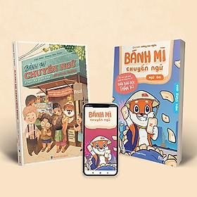 Combo Sách Bánh mì chuyển ngữ: Phản Xạ & Ngữ âm (Kèm tài khoản Apps tự học và bộ truyện tranh phản xạ)