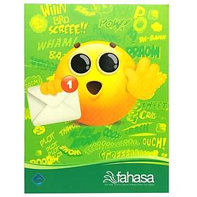 Bộ 10 Tập Học Sinh Icon 96 Trang ĐL60 - Kẻ Ngang - Mẫu 5 - Màu Xanh Lá