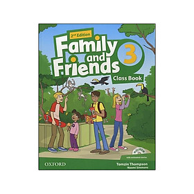 Family and Friends: Level 3: Class Book and multiROM Pack