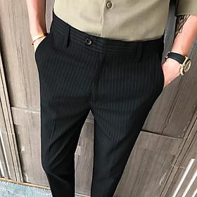 Quần tây âu nam kẻ caro chất vải cotton cao cấp , chuẩn thiết kế hàn quốc, cực tôn dáng, lịch sự, trẻ trung