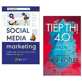 Combo Sách Marketing Trong Thời Đại 4.0 : Social Media Marketing - Chiến Lược Thu Hút Khách Hàng Trong Thời Đại 4.0 + Tiếp thị 4.0 - Dịch Chuyển Từ Truyền Thống Sang Công Nghệ Số ( Tặng Kèm Bookmark Happy Life)