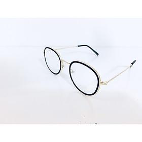 Gọng kính kim loại dáng tròn Hàn Quốc, thời trang, sanh chảnh-100060- C1