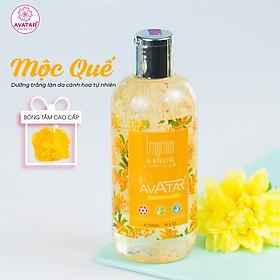 Sữa tắm cao cấp Nhật Avatar Cánh hoa thật LAVENDER- ROSE- FRAGRANS 500ml - Cùng tinh chất thiên nhiên. Dưỡng trắng, mềm mịn, trẻ hóa làn da.Tinh dầu tự nhiên nuôi dưỡng và cấp ẩm tối đa. 100% thành phần tự nhiên, an toàn tuyệt đối tốt tặng kèm bông tắm