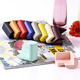 Combo 8 bọc góc bàn bằng xốp mềm mại bảo vệ bé - giao màu ngẫu nhiên