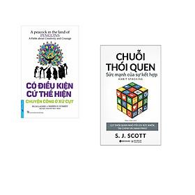 Combo 2 cuốn sách: Có Điều Kiện Cứ Thể Hiện + Chuỗi Thói Quen : Sức Mạnh Của Sự Kết hợp