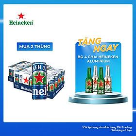 Thùng 24 Lon Cao Heineken 0.0 (24 Lon x 330ml)