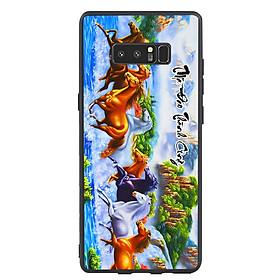 Ốp lưng nhựa cứng viền dẻo TPU cho điện thoại Samsung Galaxy Note 8 -Mã Đáo Thành Công 01