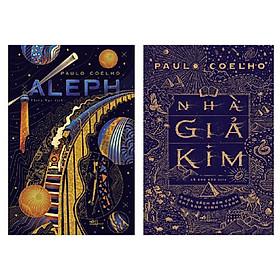 Combo 2 cuốn: Aleph - Một Chuyến Hành Hương Của Chàng Santiago Trong Đời Thực + Nhà Giả Kim (Tái Bản 2020)
