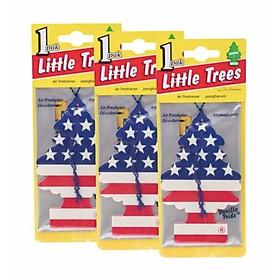 Bộ 5 cây thông thơm Little Trees Cờ Mỹ