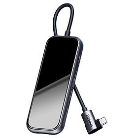 Baseus đa chức năng HUB Loại C đến 4 x USB 2.0 cho điện thoại di động và máy tính cho MacBook / PC - Hàng chính hãng